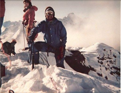 Mountaineering training back in 1984. :)