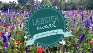 The Liebster Award--A Network For New Bloggers (3/3)