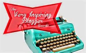 The Very Inspiring Blogger Award (1/2)