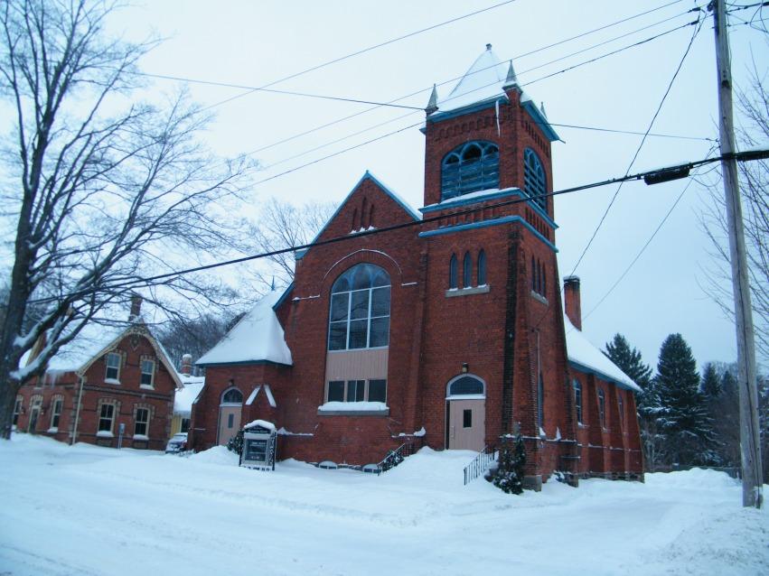 The church where I am lay minister.