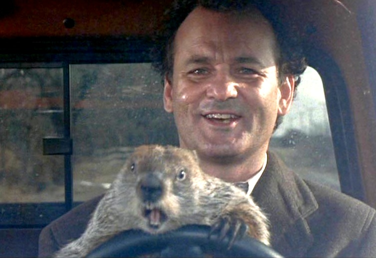 "Image from the movie ""Groundhog Day"""