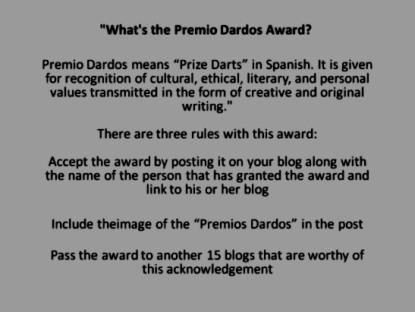 Premio Dardos Rules