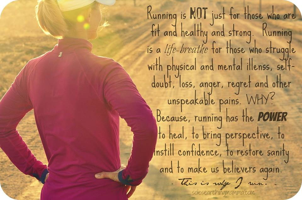 Why I Run, and the