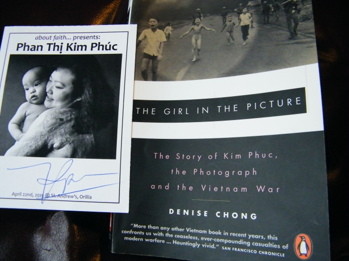 "The book ""The Girl In the Picture"" book written about Kim Phuc. VERY powerful and well worth reading!"