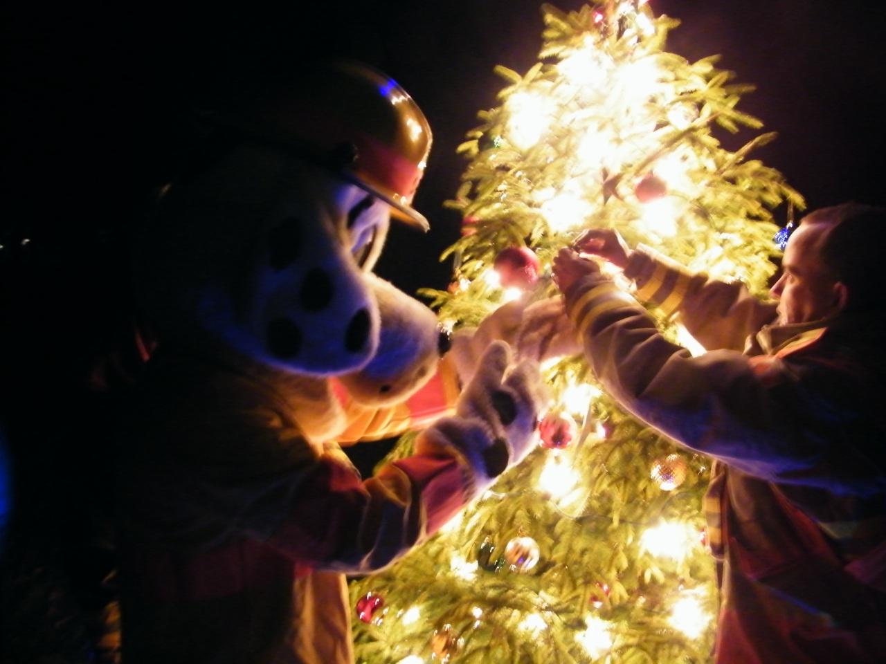 A Community Lights Up a Dark DecemberNight