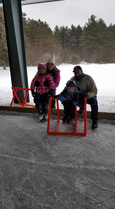 Skating is such a wonderful family activity. Love watching the young children learning to skate. Picture taken a community Family day skate. Photo by Springwater Township Deputy Mayor Don Allen.