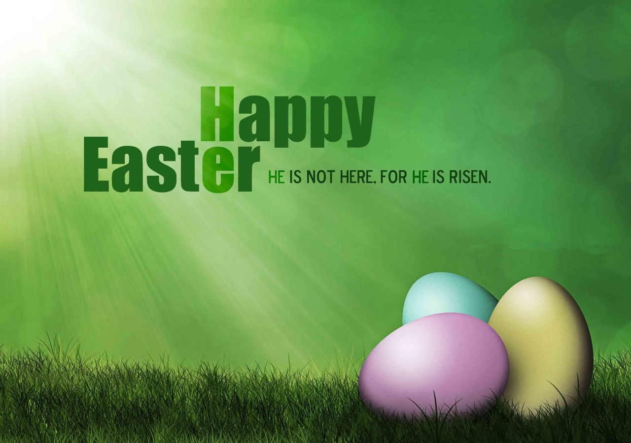 Happy Easter…..He IS Risen