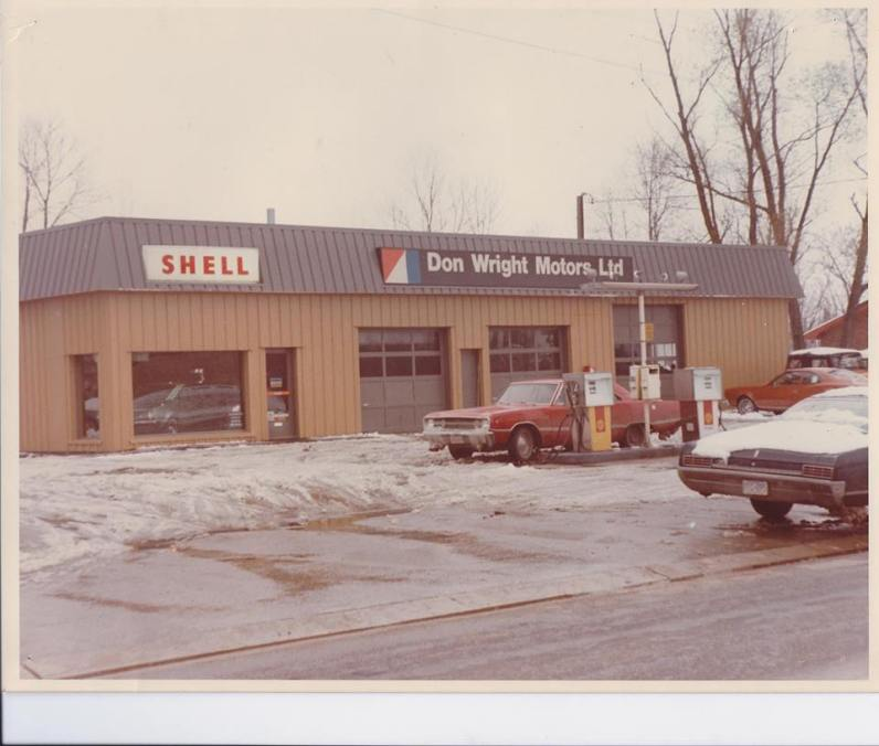 Don Wright Motors: the car dealership my Uncle Don started up from scratch.