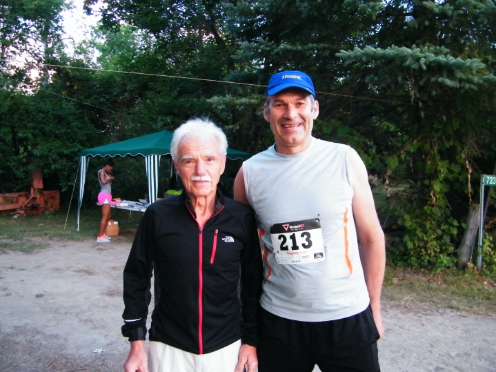 Such an honour to be able to spend time talking with Canadian ultrarunning legend Hans Maier.