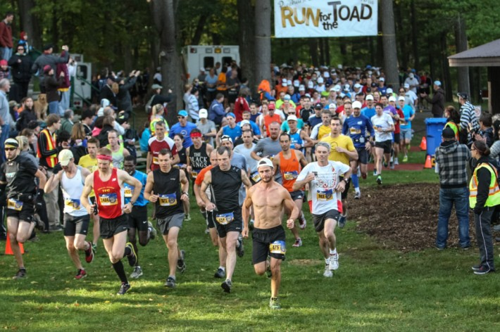 Start of the 2012 Run for the Toad, Paris Ontario. Photo by Ryder Photography
