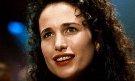 Andie MacDowell from movie Groundhog Day. Image Source