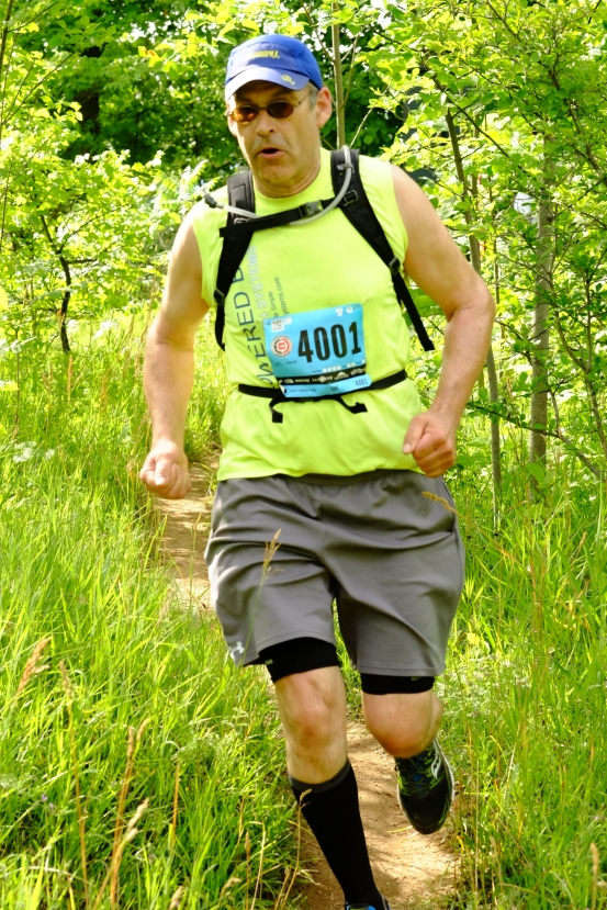 Running the second of four 50k Ultras in 2016. The North face Endurance Challenge
