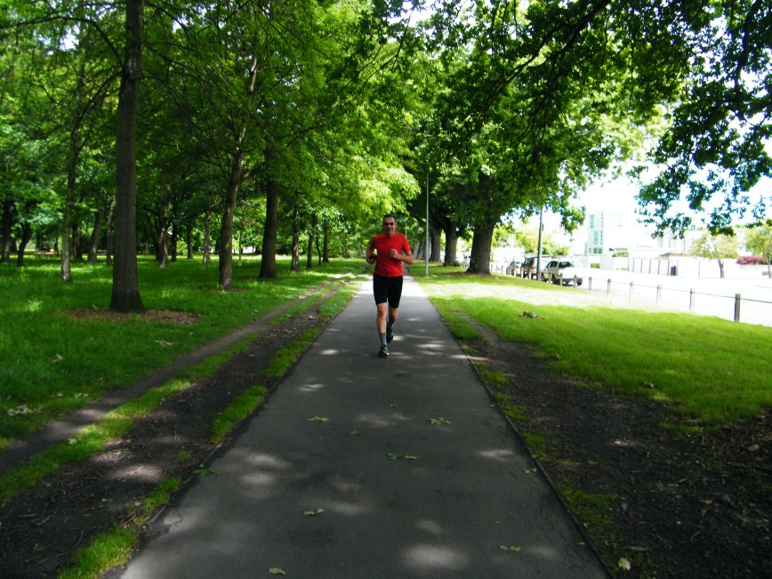 Running in Christchurch New Zealand just a few weeks ago. it was an amazing 3 weeks.