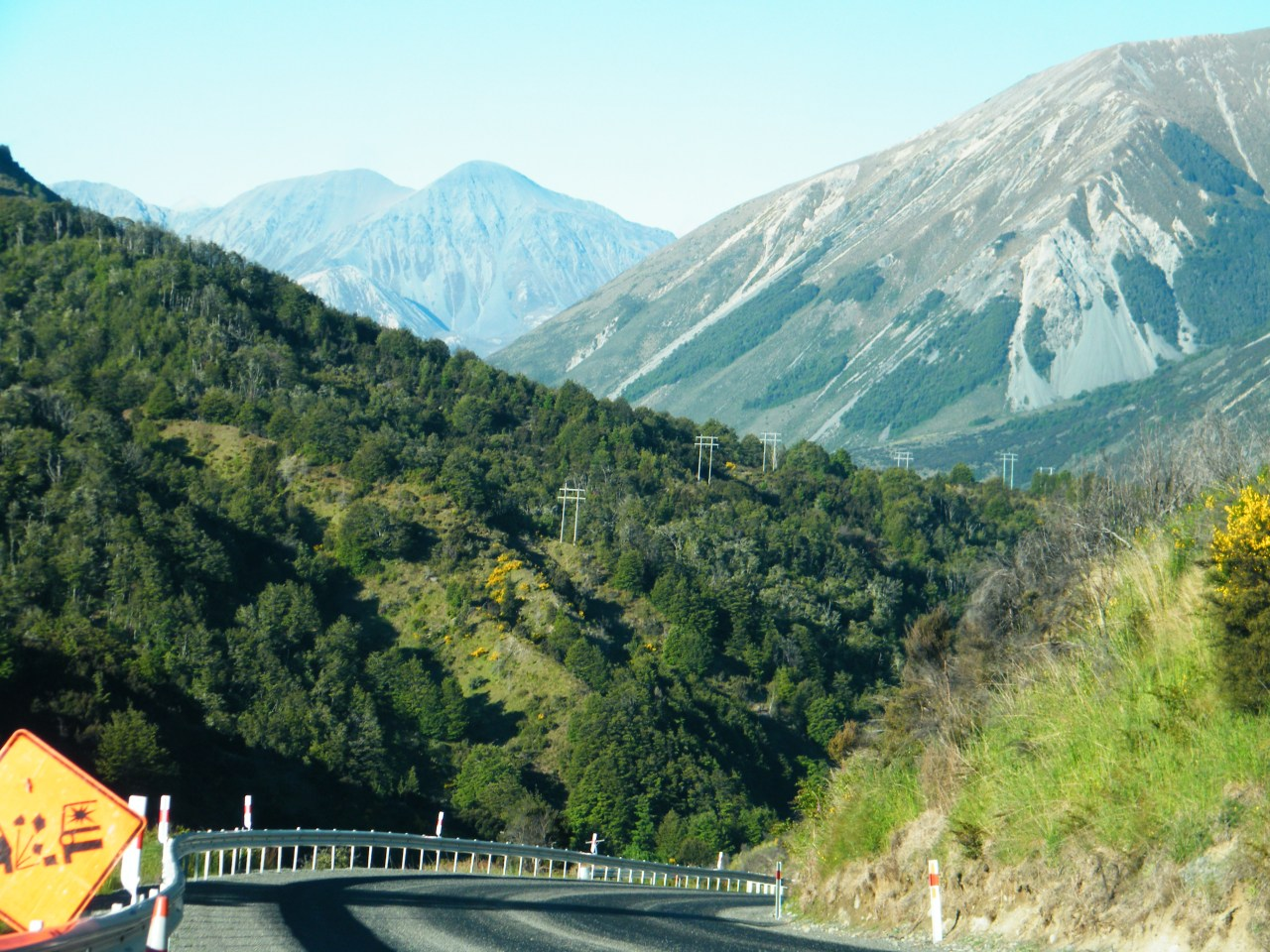 N.Z. Road Trip. Part 1: Christchurch to Greymouth.