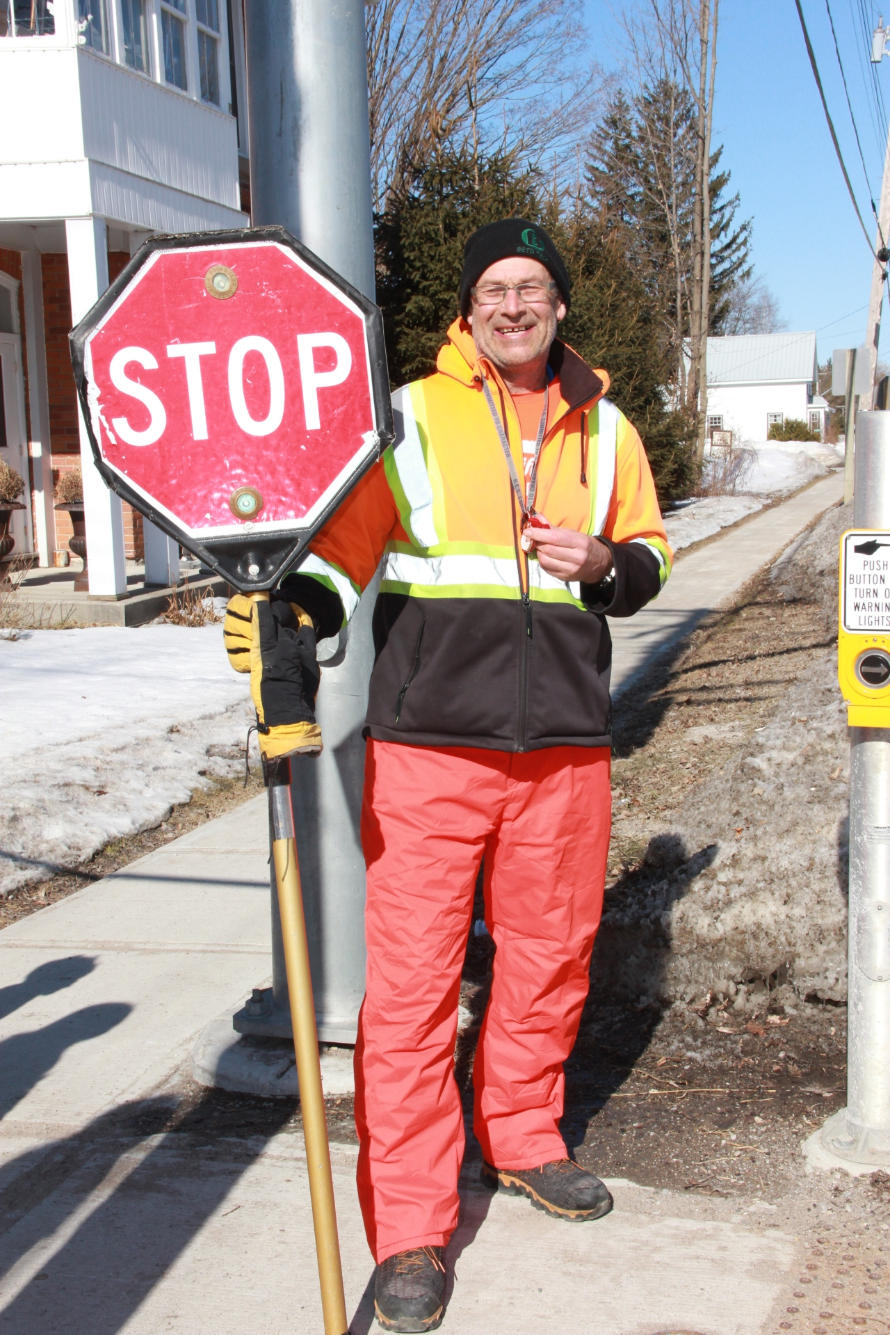 My Life as a School Crossing Guard